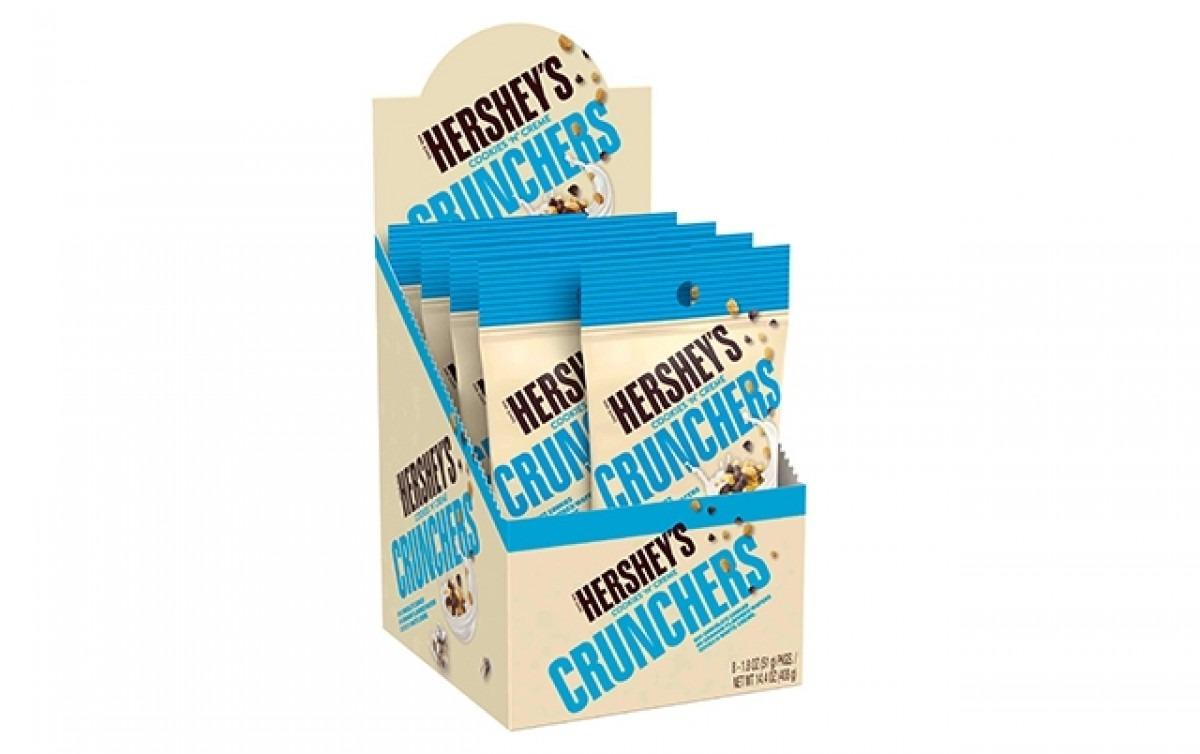 Hershey's Cookies 'n' Creme Crunchers Snacks, 1 8 Oz, 8