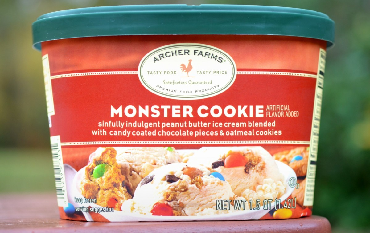 Food And Ice Cream Recipes  Review  Archer Farms Monster Cookie