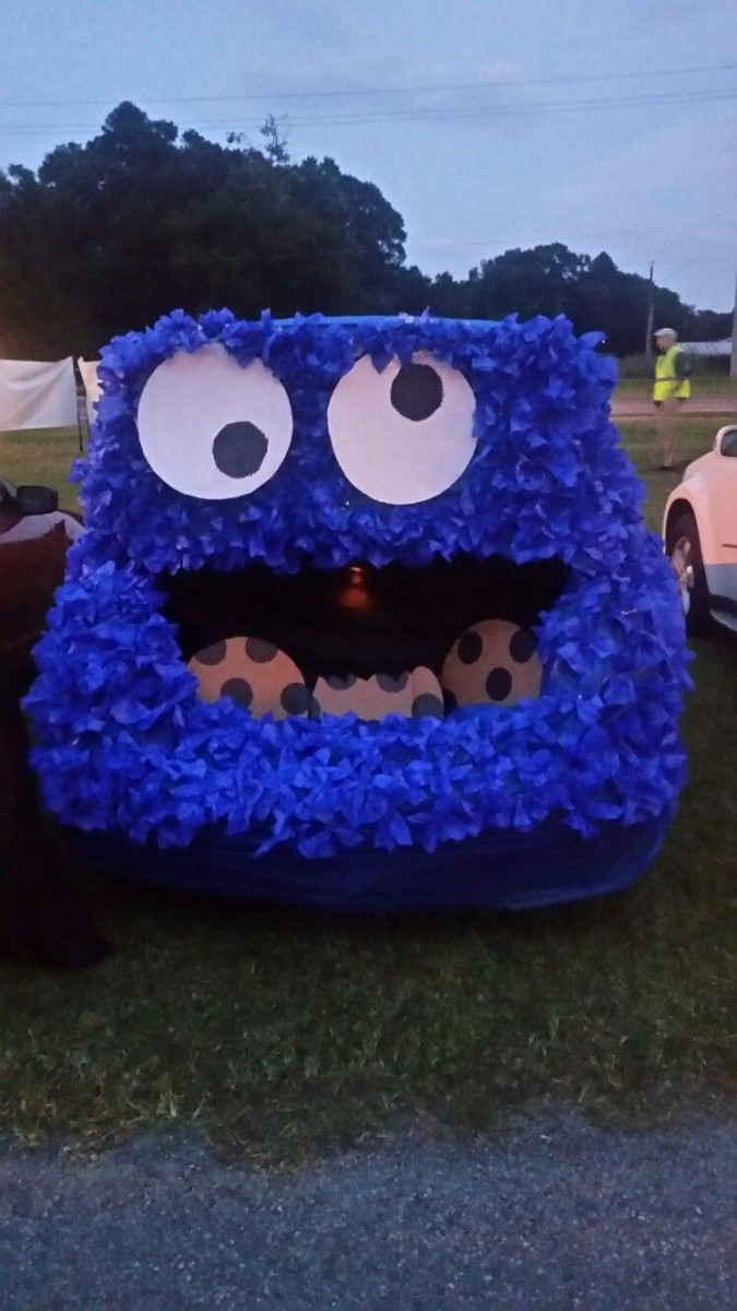 Cookie Monster Trunk A Treat