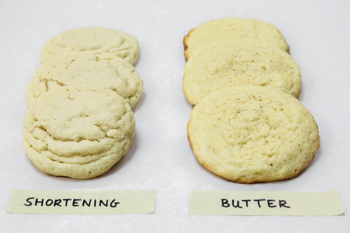 Shortening Vs  Butter In Baking