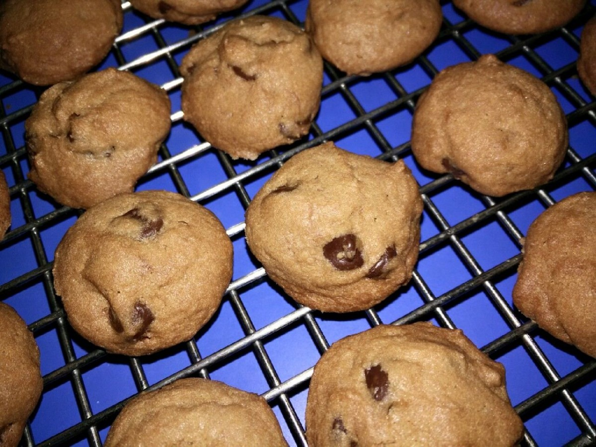 Singapore Home Cooks  'famous Amos' Crunchy Chocolate Chip Cookies
