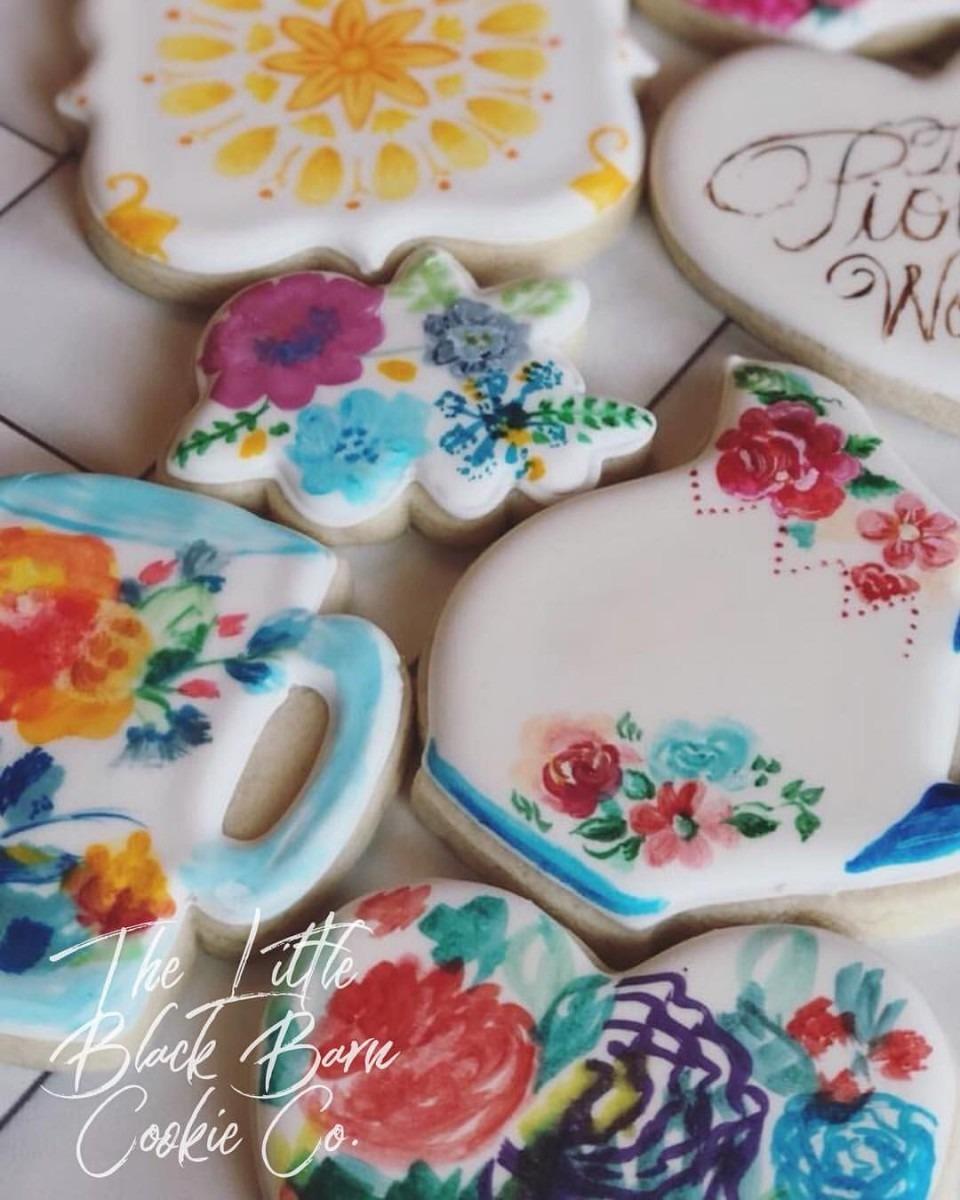 Pioneer Woman Inspired Cookies  Florals  Mugs  Plates  Cookies