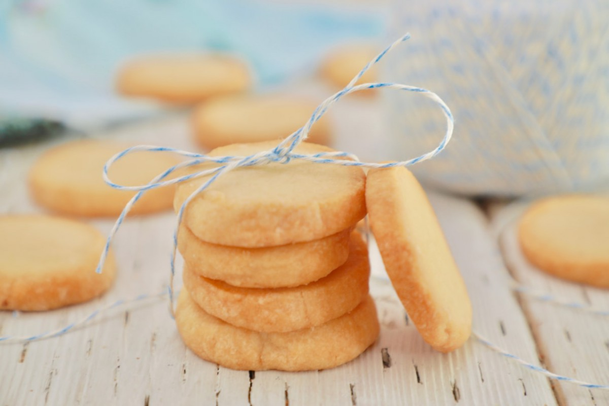 Gemma's 3 Ingredient Shortbread Cookies Recipe