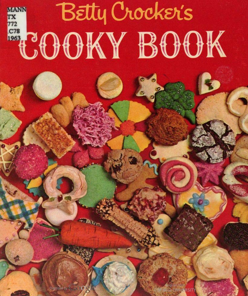Betty Crocker's Cooky Book, From 1963
