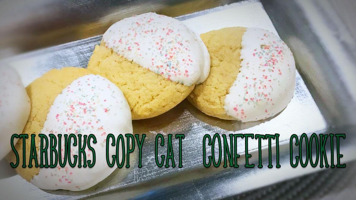 Copy Cat Recipe Starbucks Confetti Sugar Cookie
