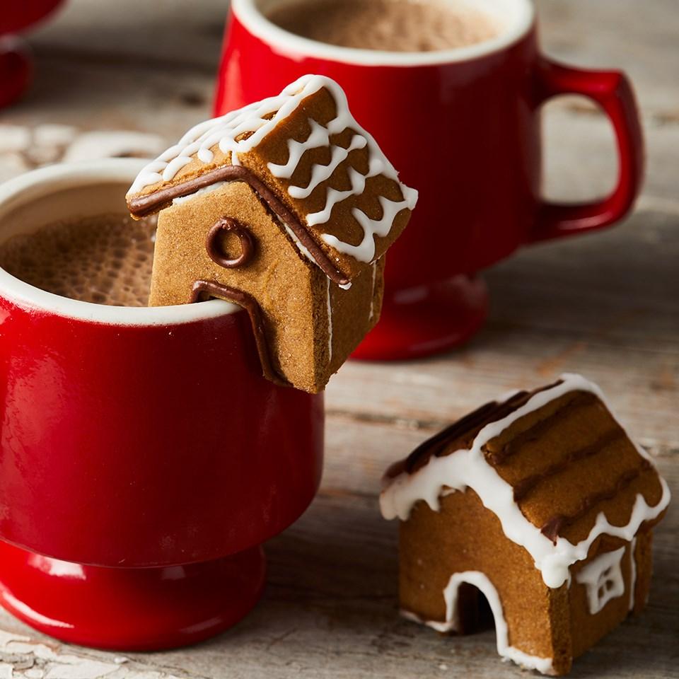 Mini Gingerbread House Cookies Recipe