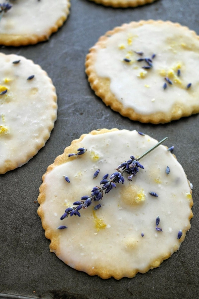 Lemon Lavender Shortbreads