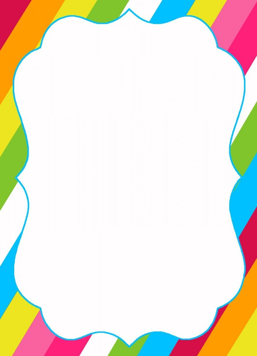 Candyland Blank Templates