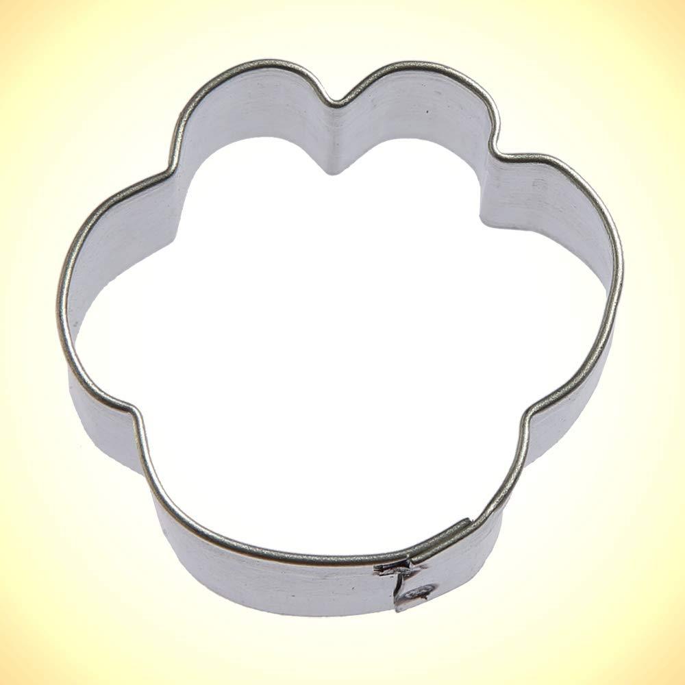 Amazon Com  Miniature Paw Print Cookie Cutter 1 25 In M153