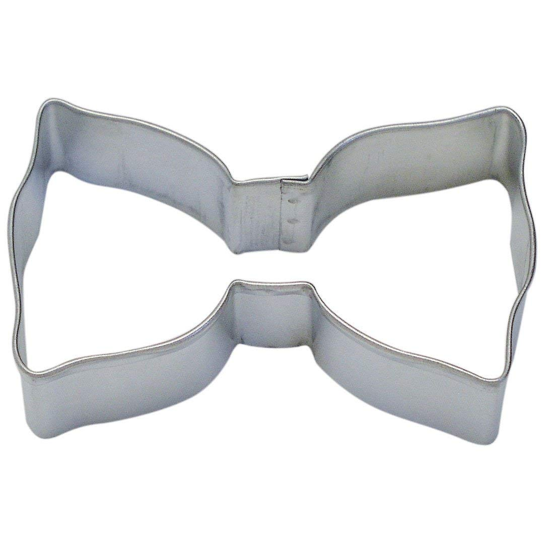 Amazon Com  Bow Tie Tin Cookie Cutter 3 5  B0860  Kitchen & Dining
