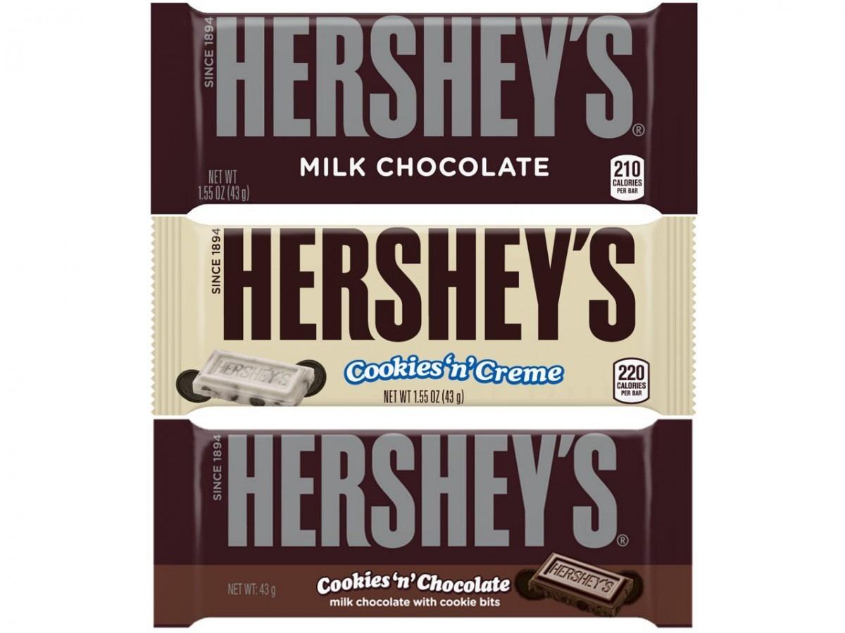 Amazon Com   Hershey's Milk Chocolate Bar, 1 55