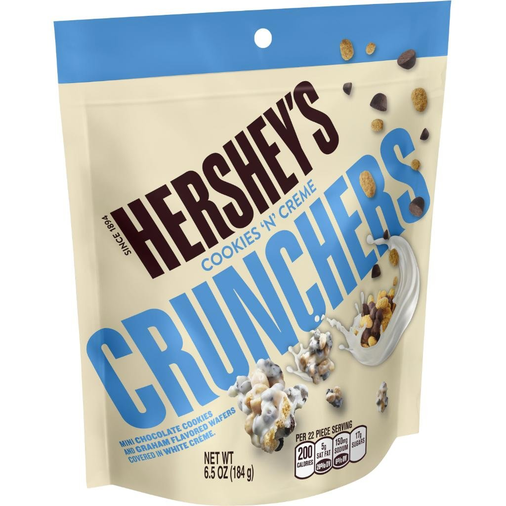 Amazon Com   Hershey's Cookies 'n' Creme Crunchers Candy, 14 4