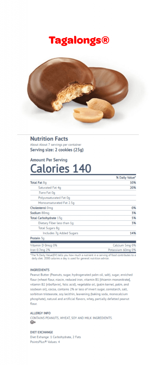 Calories In Fortune Cookie