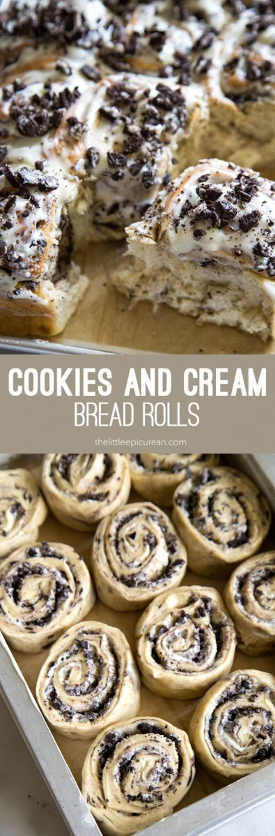 Cookies And Cream Rolls