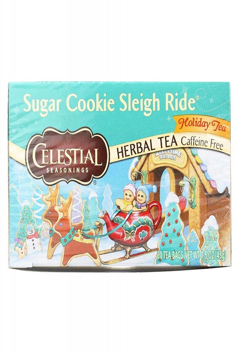 Celestial Seasonings Sugar Cookie Sleigh Ride Tea Bags