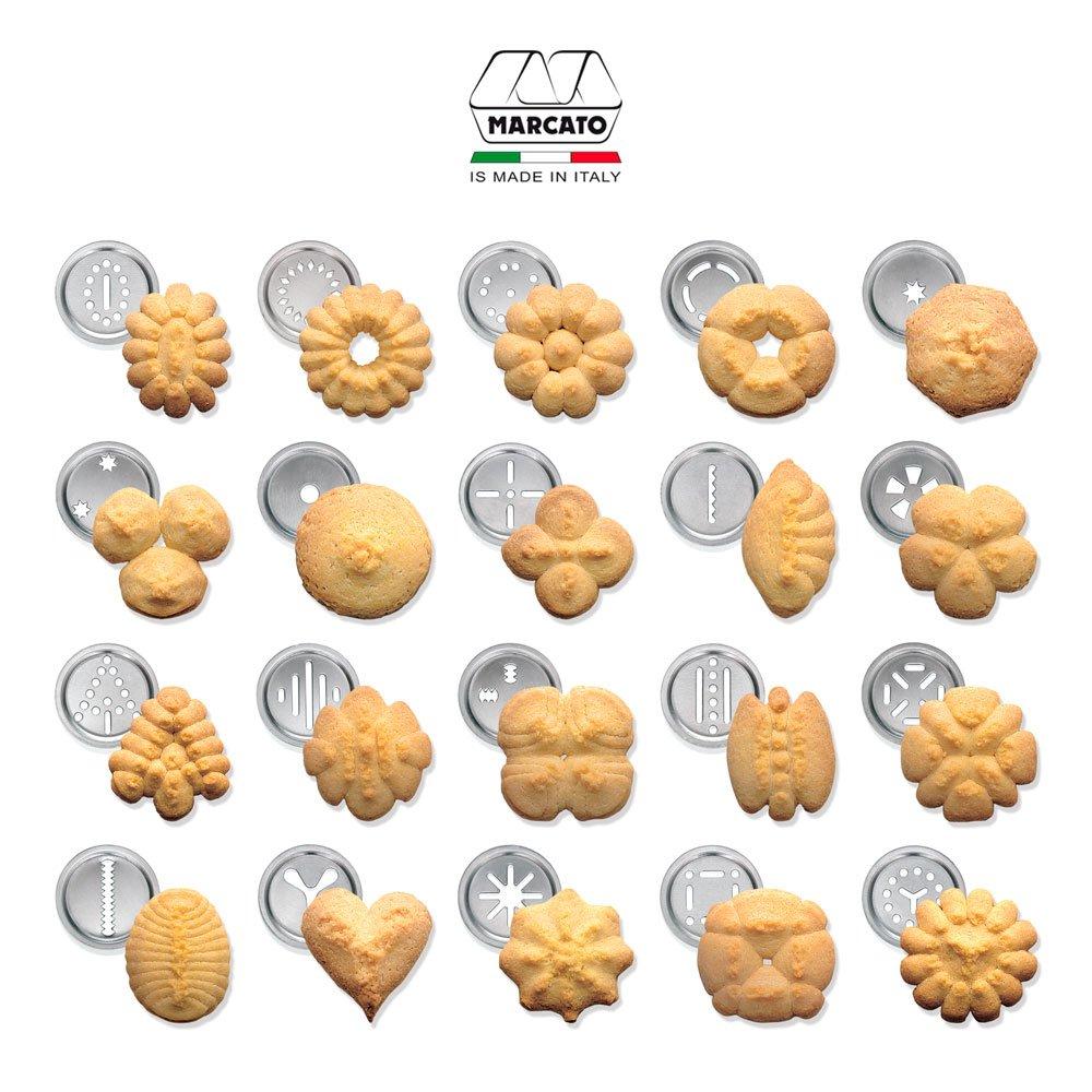 Amazon Com  Marcato 8300 Atlas Classic Biscuit Maker Cookie Press