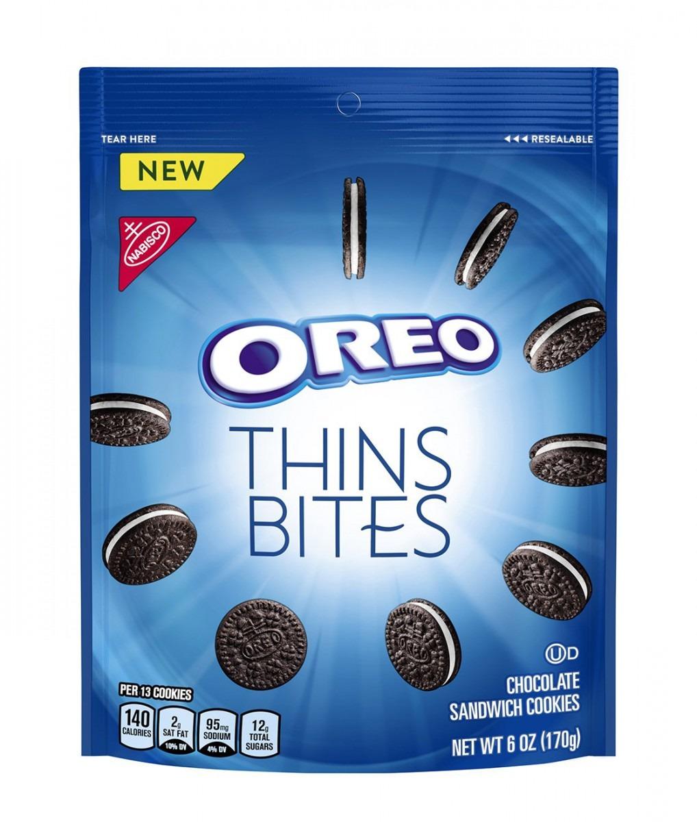 Amazon Com  Oreo Thins Bites Mini Chocolate Sandwich Cookies, 6