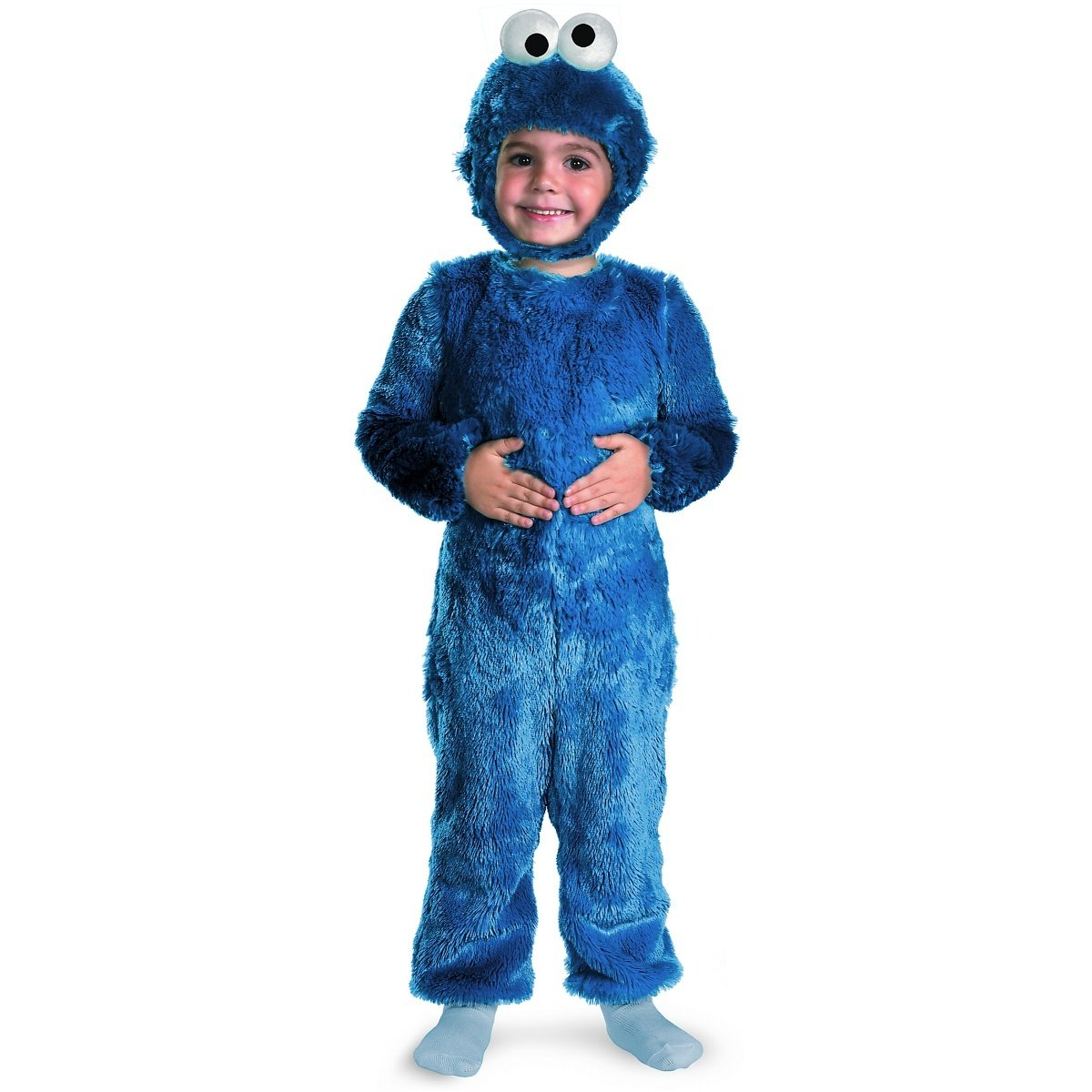 Amazon Com  Cookie Monster Comfy Fur Costume