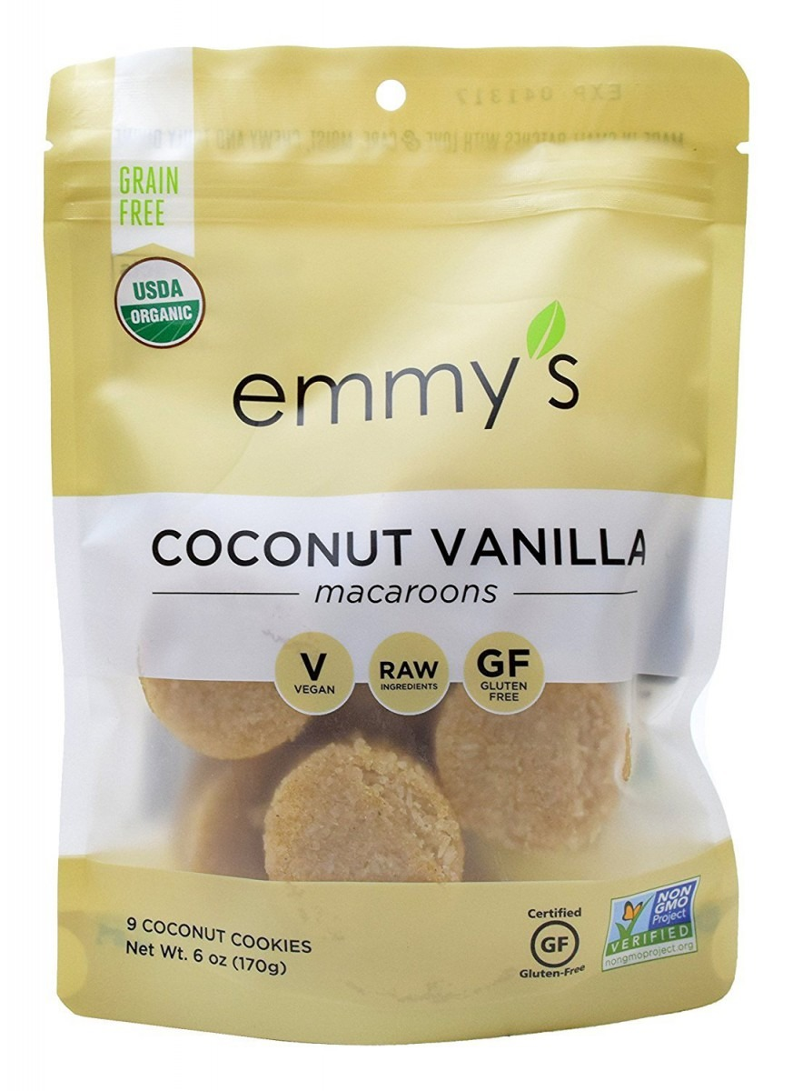Amazon Com  Emmy's Coconut Vanilla Macaroons, 6 Ounce (pack Of 2)