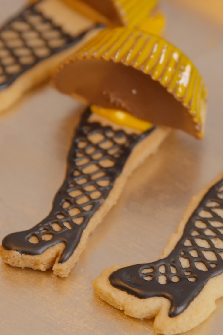 7 Leg Lamp Christmas Cookies From A Christmas Story