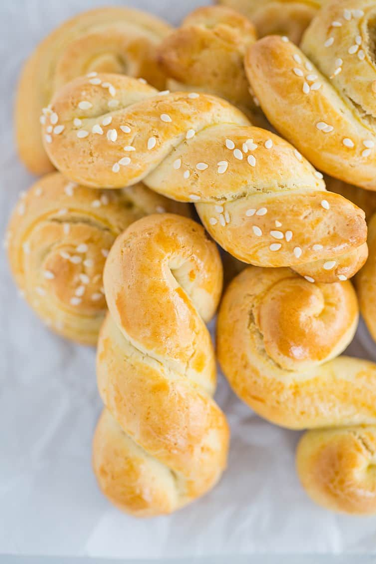 Koulourakia  Greek Easter Cookies