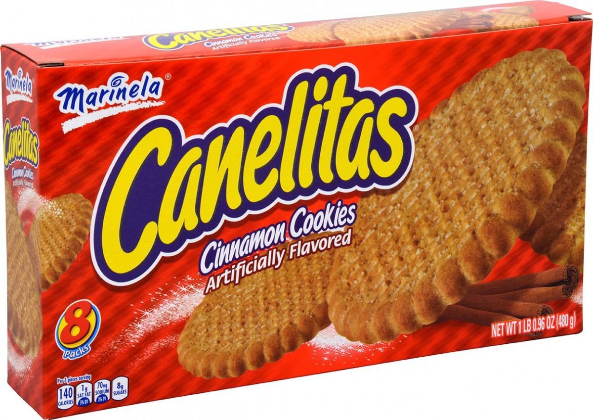 Amazon Com  Marinela Canelita En Caja Cinnamon Cookies Box, 16 96 Oz