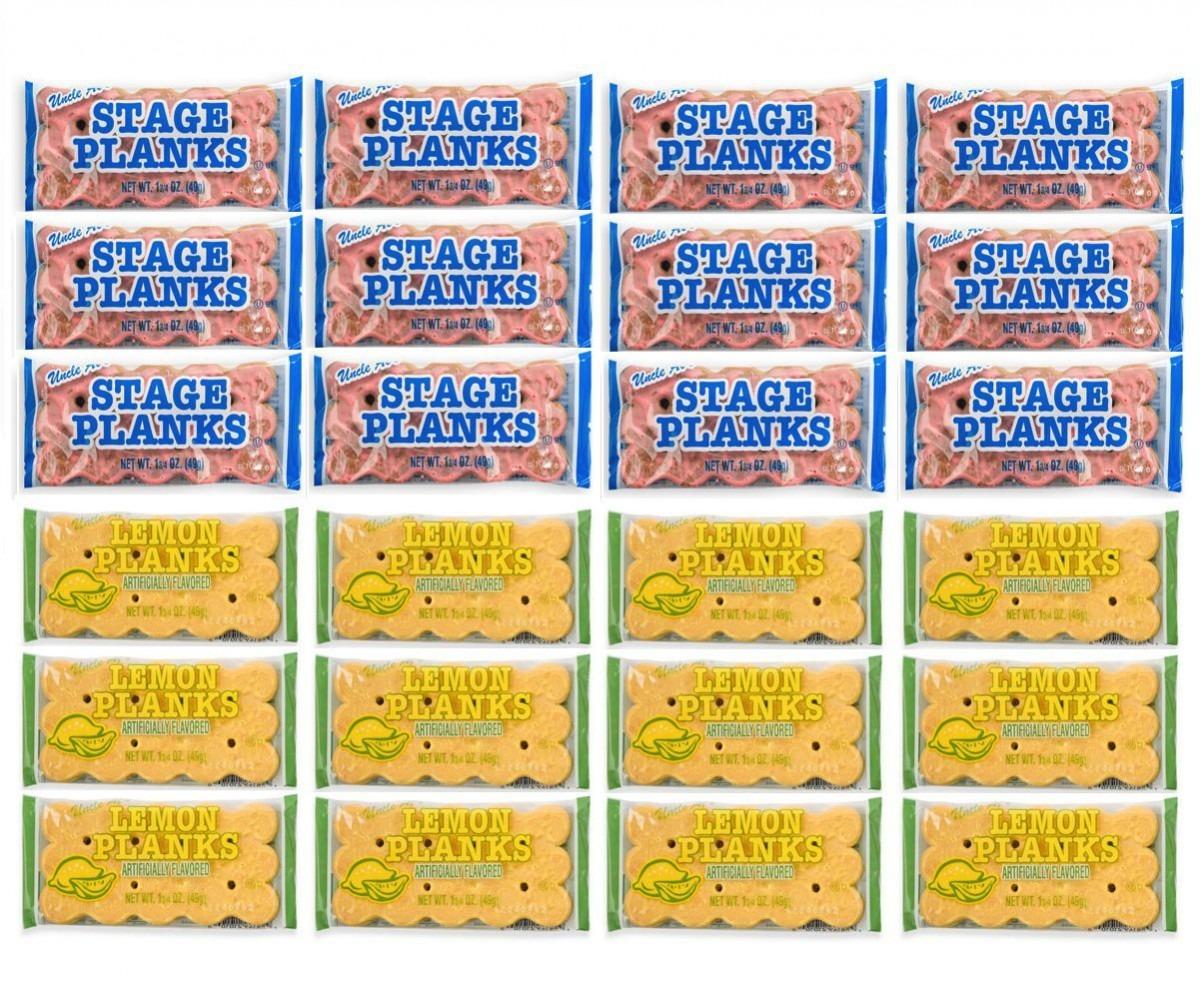 Amazon Com   Uncle Al's Stage Plank Cookies 24 Pack (12 Original