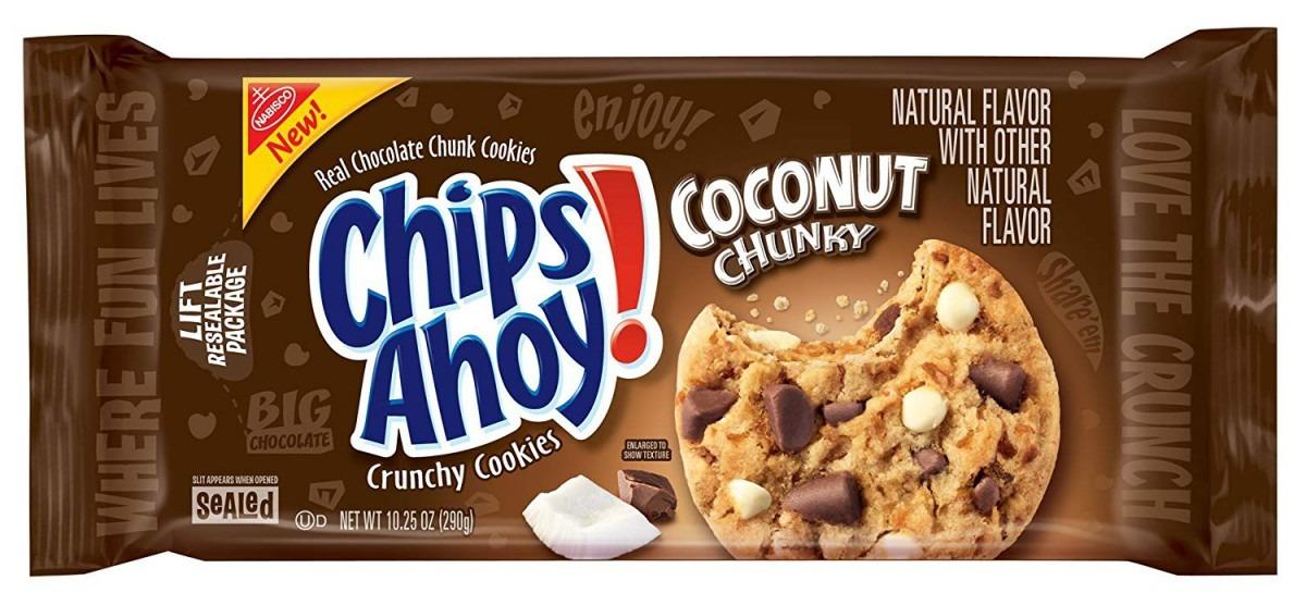 Amazon Com  Chips Ahoy! Coconut Chunky Cookies, 10 25 Ounce