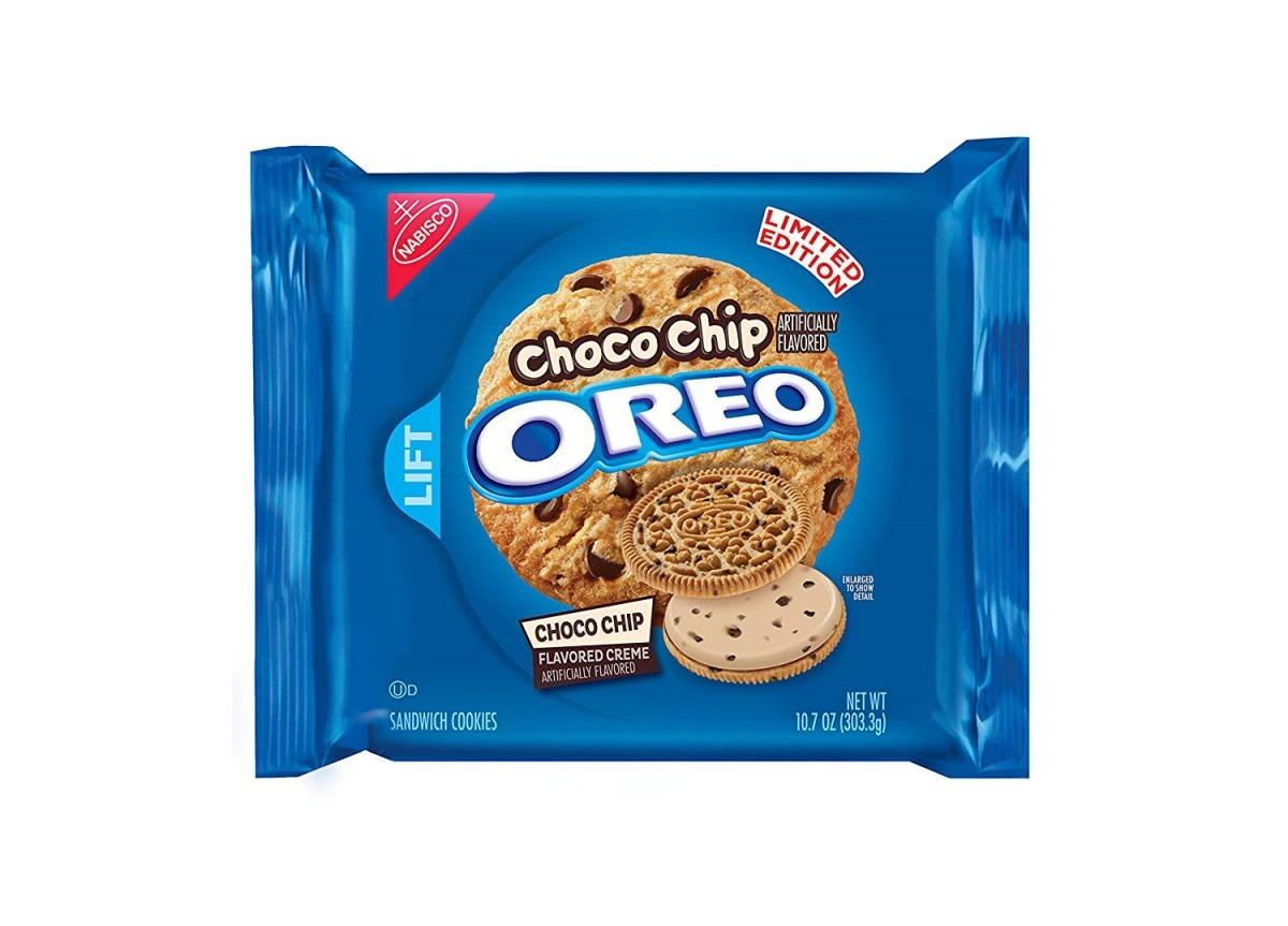 Amazon Com  Oreo Choco Chip Sandwich Cookies, 10 7 Ounce