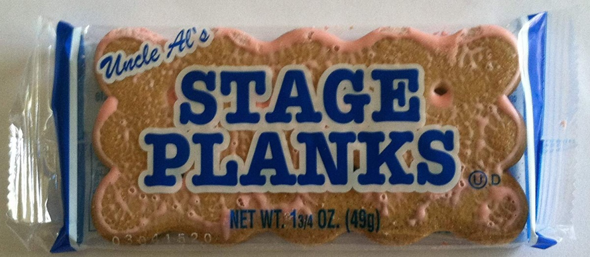 Amazon Com  Uncle Al's Old Fashioned Stage Planks, Pack Of 12