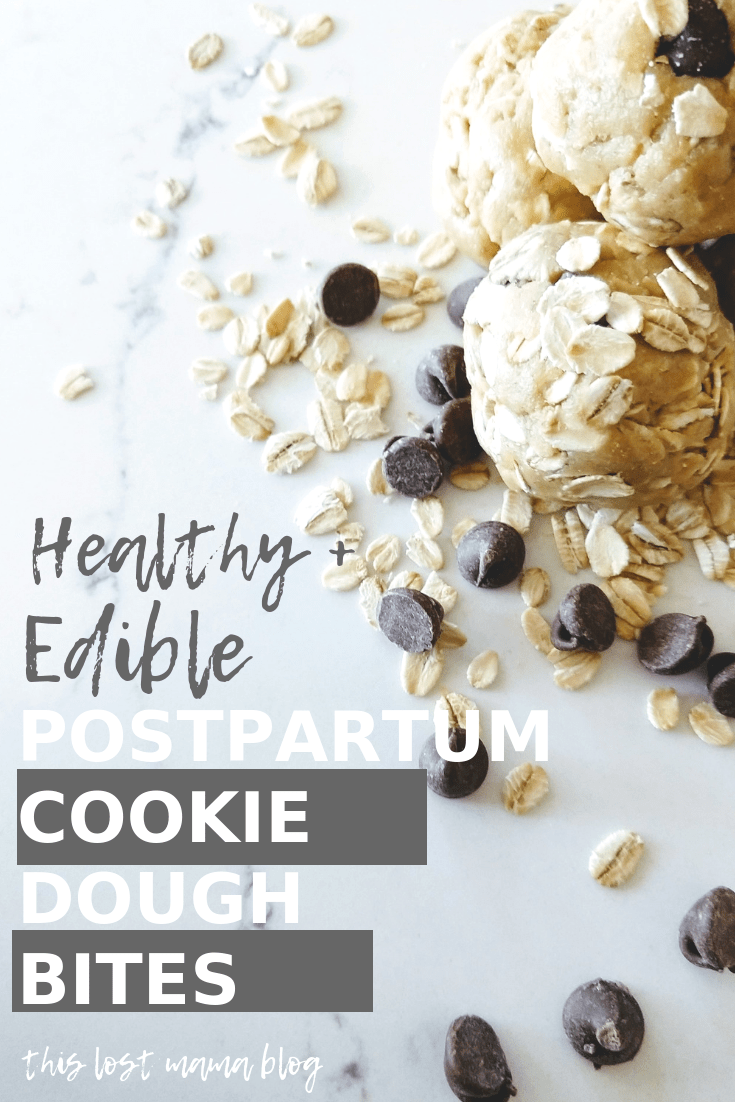 Edible Cookie Dough Bites For Snacking While Pregnant Or