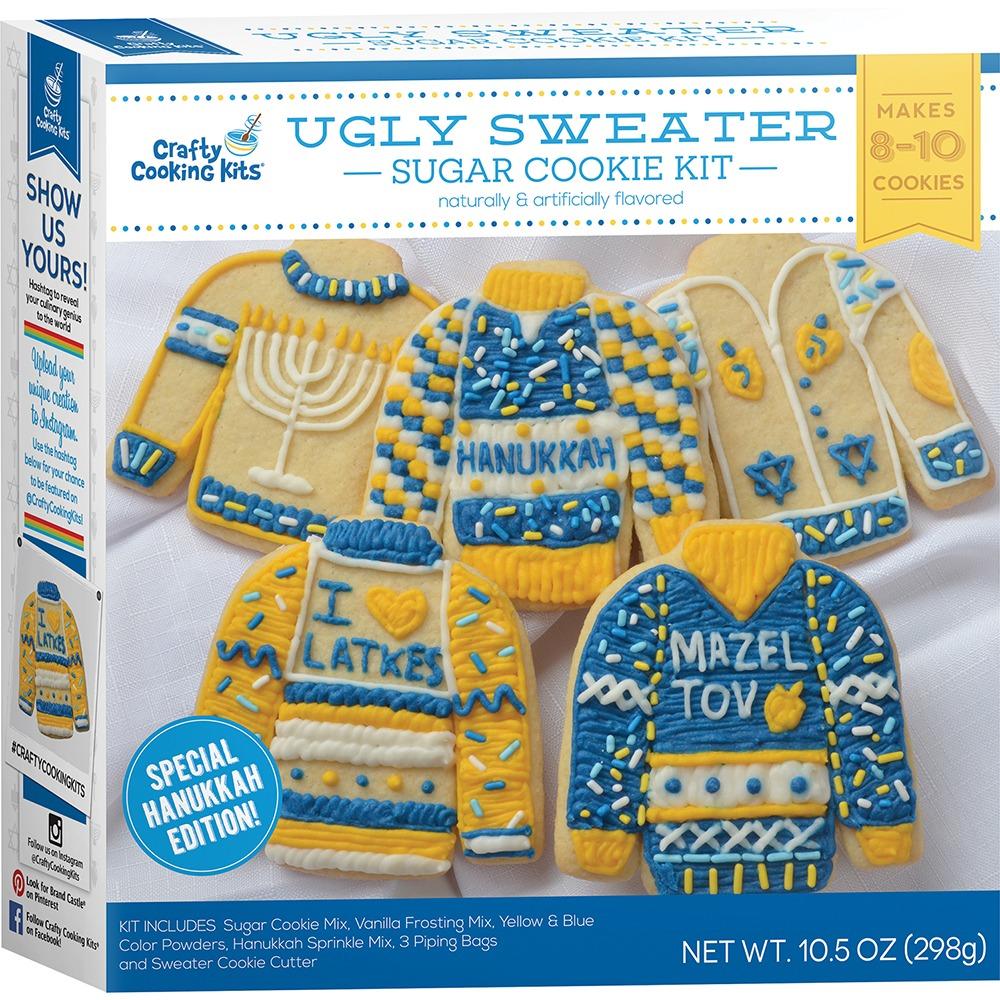 Ugly Sweater Sugar Cookie Kit (hanukkah Edition)