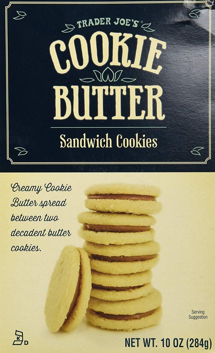Trader Joe's Cookie Butter Sandwich Cookies  Amazon Com  Grocery
