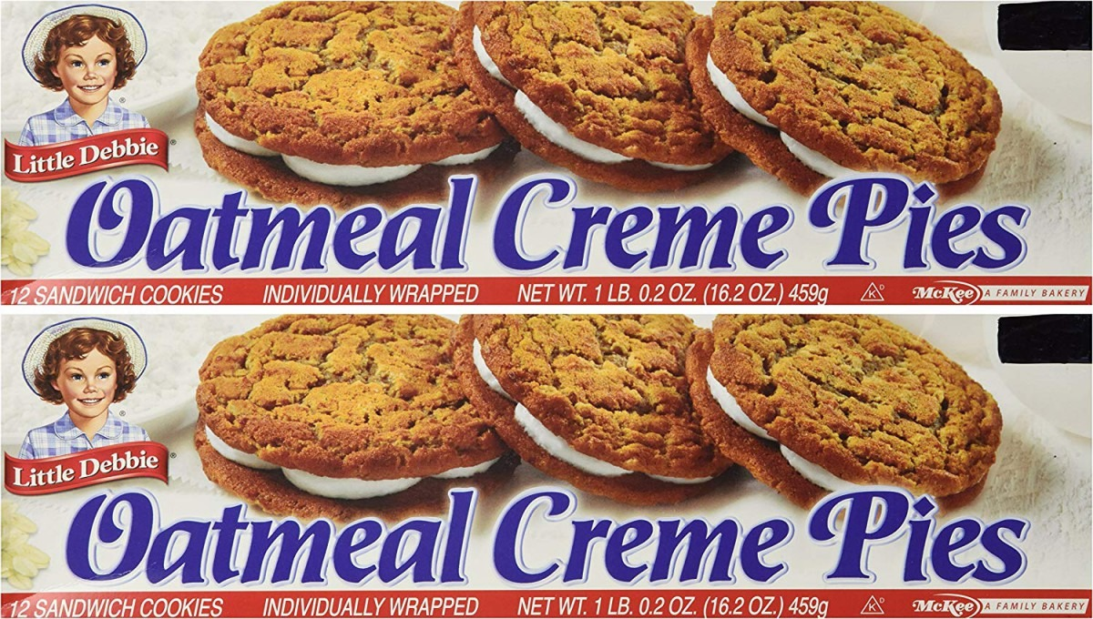 Little Debbie Oatmeal Creme Pies, 24 Count  Amazon Com  Grocery