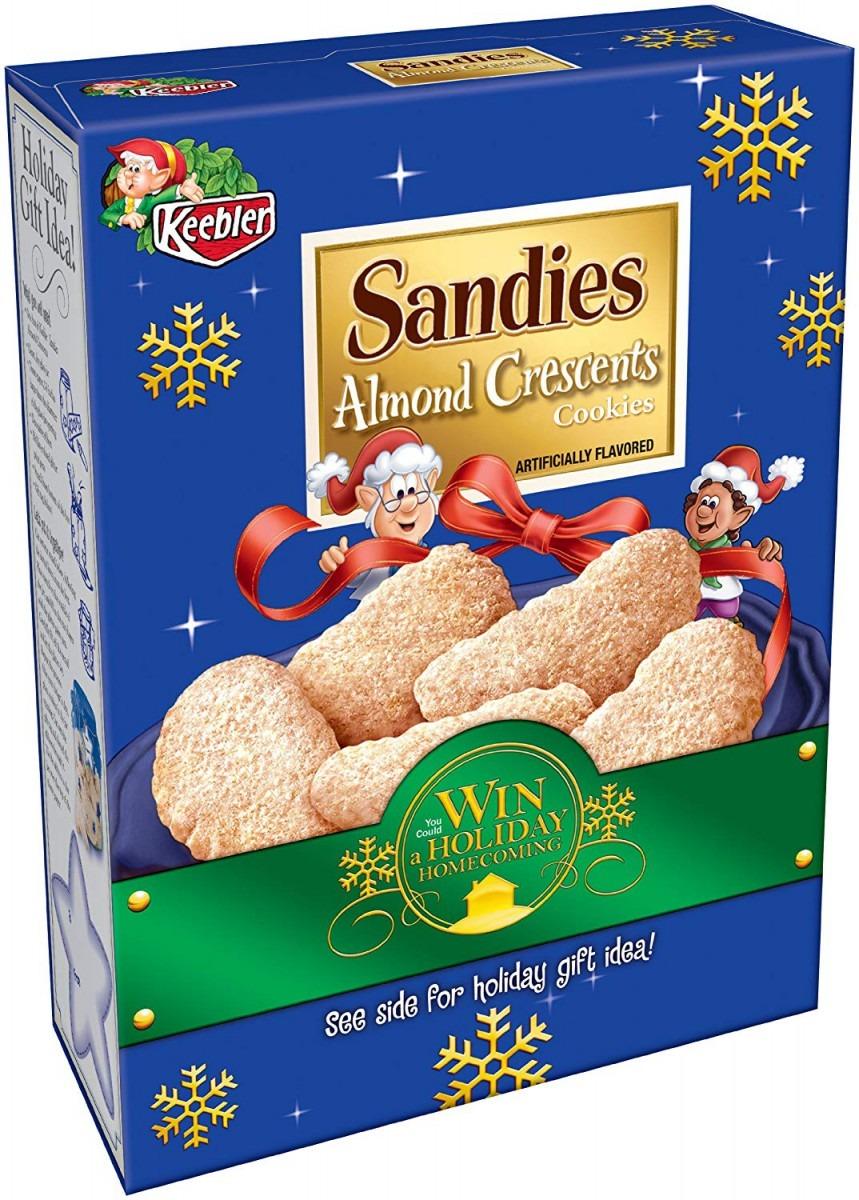 Amazon Com  Keebler Holiday Sandies Almond Crescents, 11