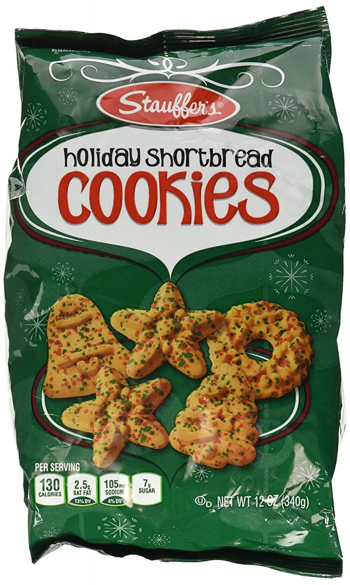Amazon Com  Stauffers Holiday Shortbread Cookies 12 Oz
