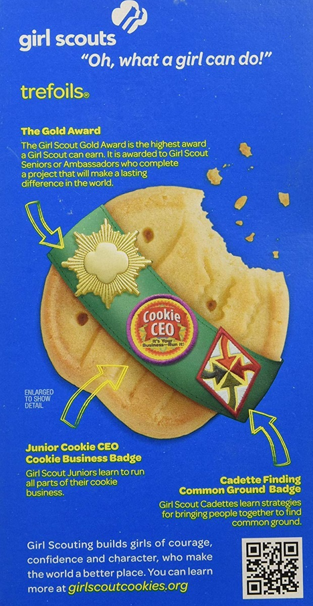 Amazon Com  Girl Scout Cookies Trefoils A Traditional Shortbread