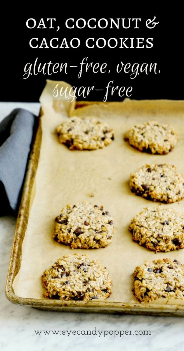 Video] Oat, Coconut And Cacao Cookies, Aka Super Healthy Oatmeal