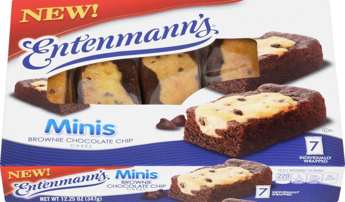 Entenmann's Mini Brownie Chocolate Chip Cakes, 12 25oz , 7ct