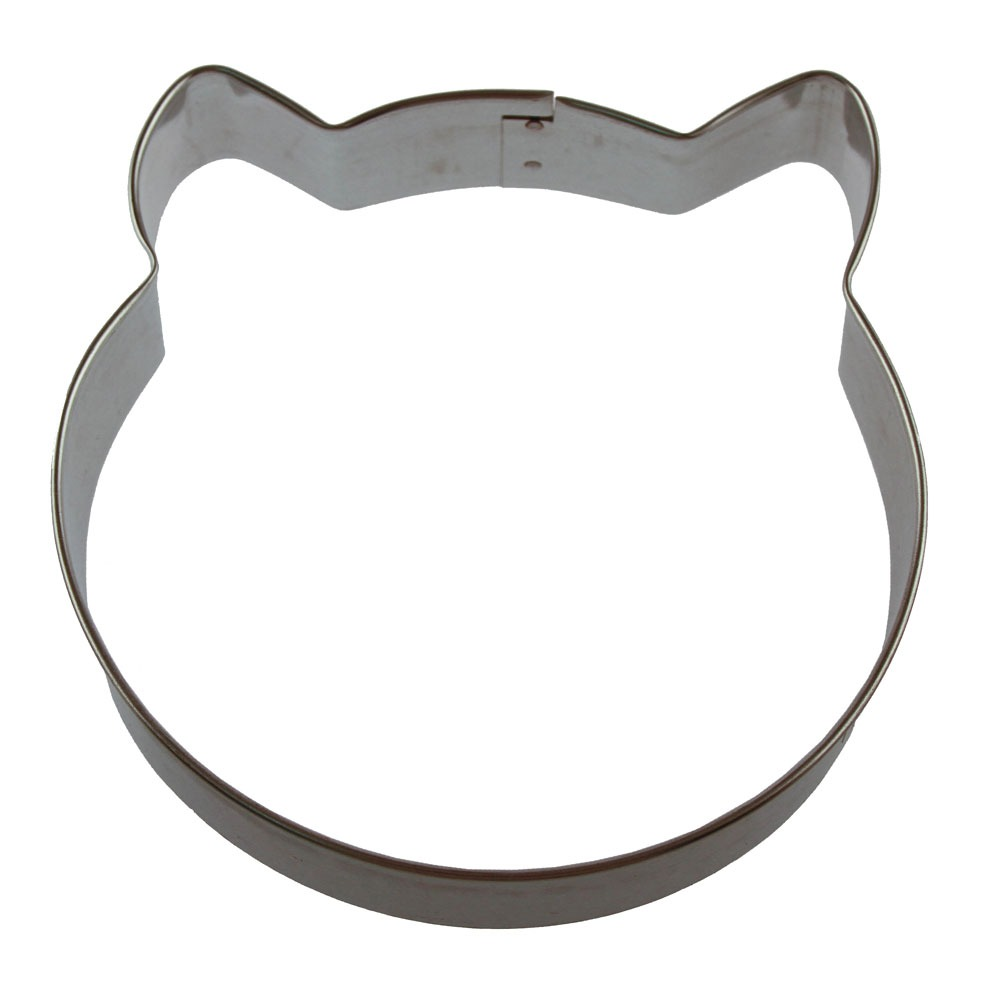 Round Cat Face Cookie Cutter ~ The Cookie Cutter Shop