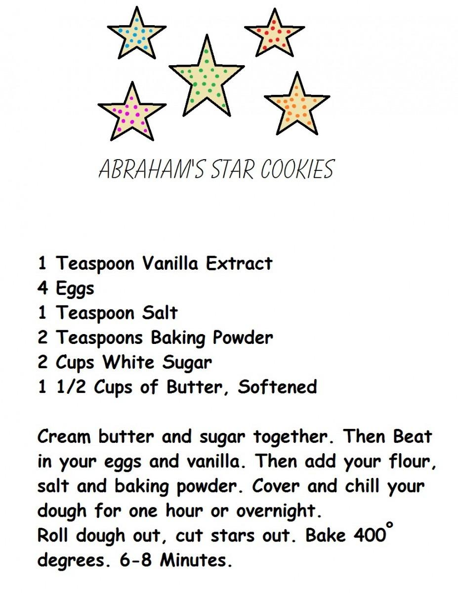 Abrahams Children Like Stars Recipe