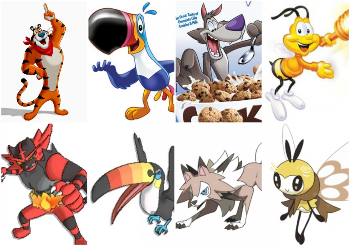 Pokemon Vs Cereal Mascots