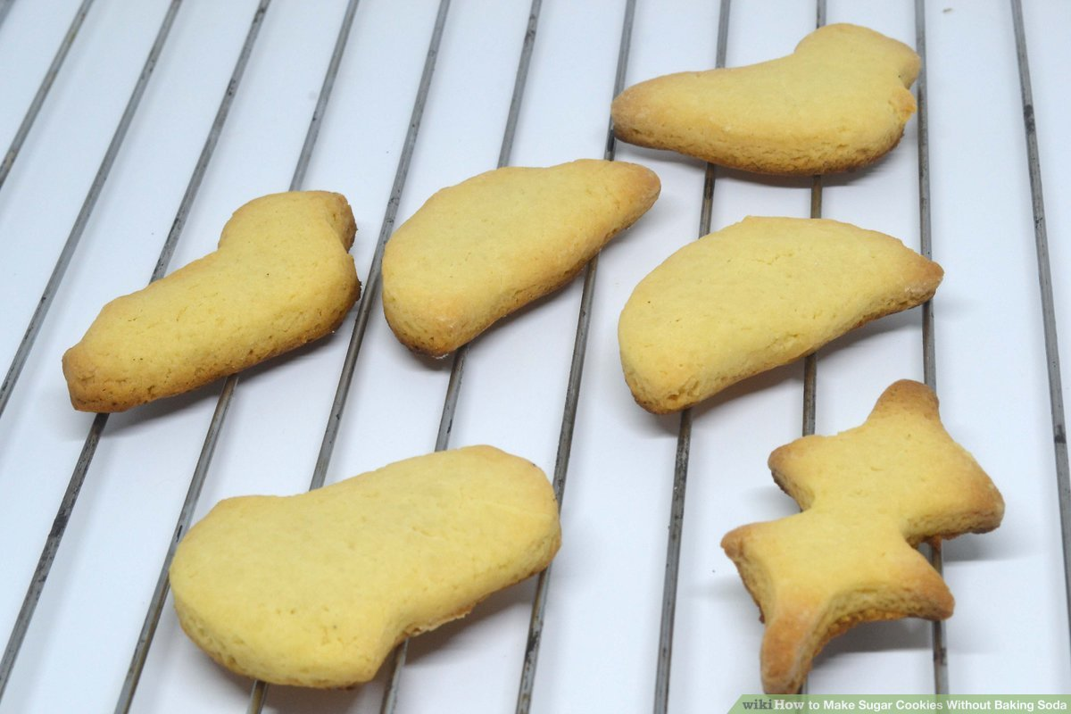 How To Make Sugar Cookies Without Baking Soda (with Pictures)