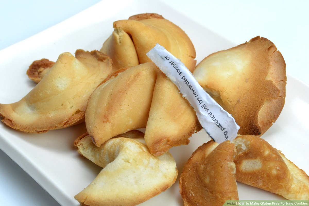 How To Make Gluten Free Fortune Cookies  15 Steps (with Pictures)