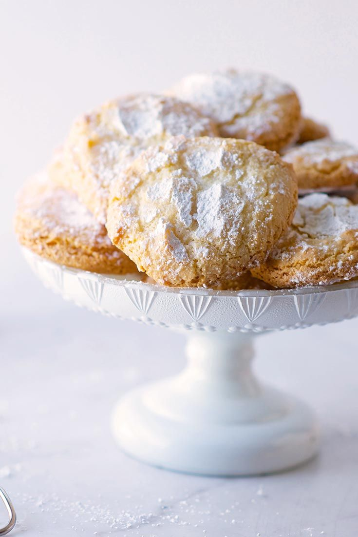 Almond Cloud Cookies – My Honeys Place