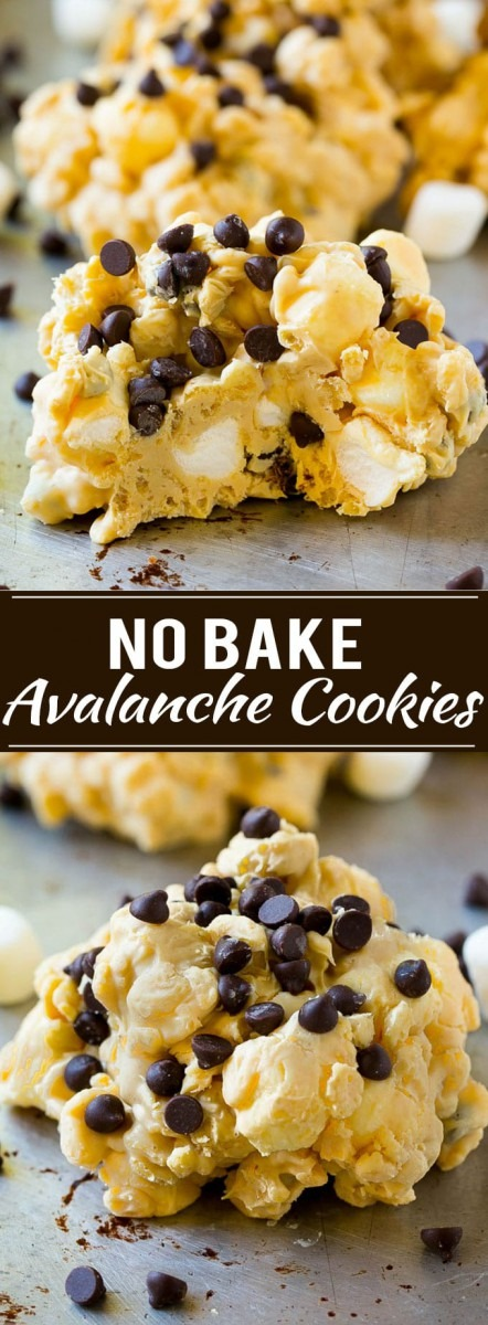 Avalanche Cookies (no Bake)