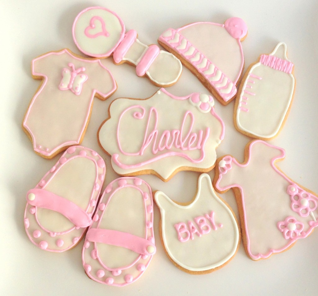 Awesome Baby Shower Cookie Idea Girl Ba Gift Cutter Recipe Near Me