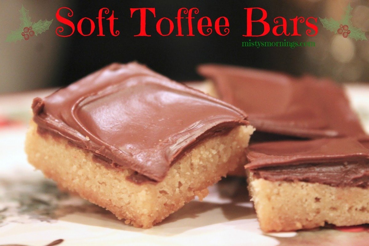 Misty's Mornings  Soft Toffee Bars {christmas Cookies}