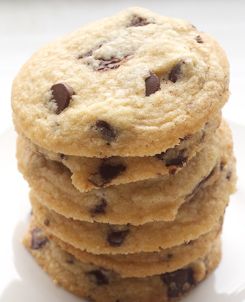 Browned Butter Salted Chocolate Chip Cookies