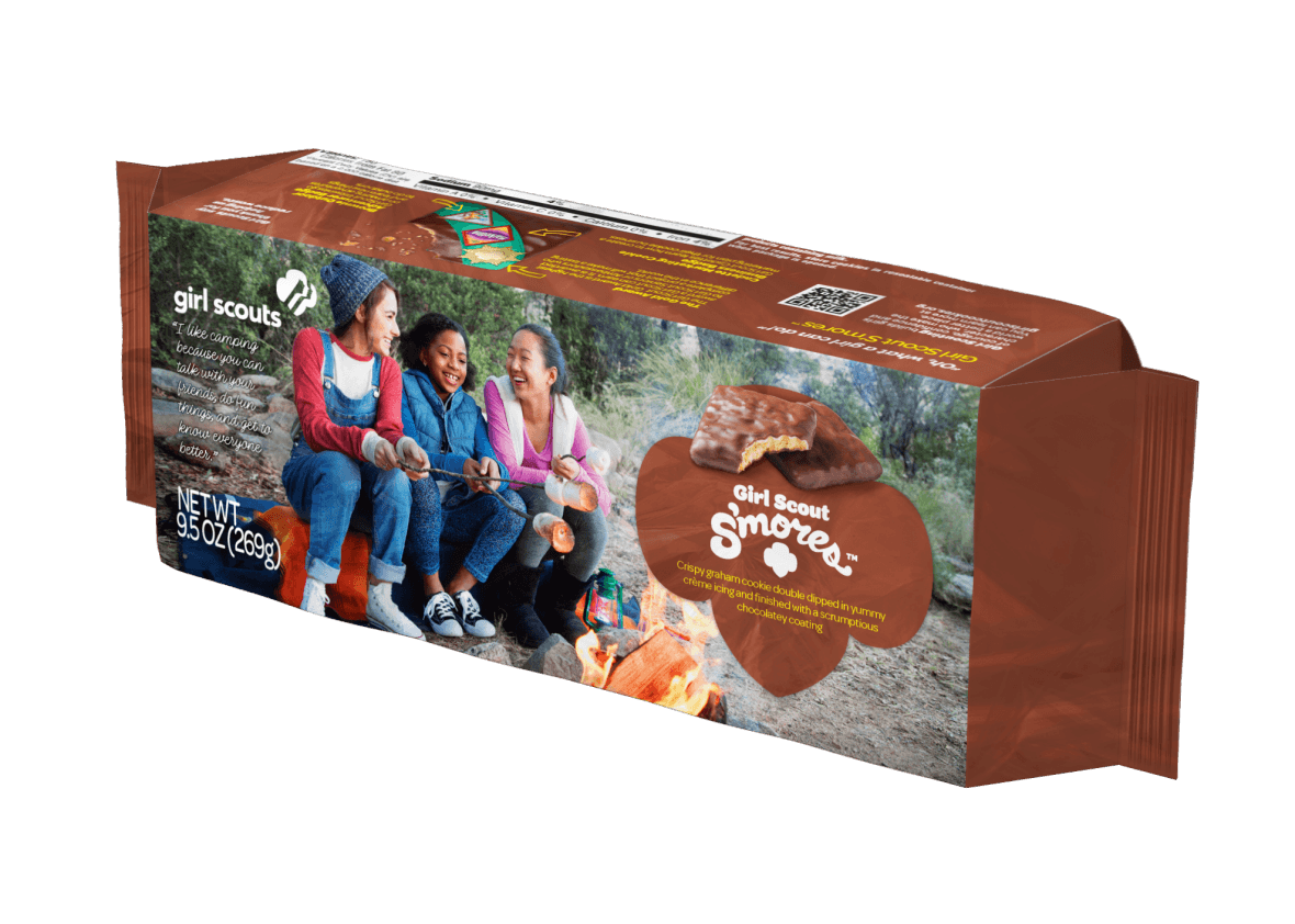 The Girl Scouts Are Introducing Two Different S'mores Cookies With